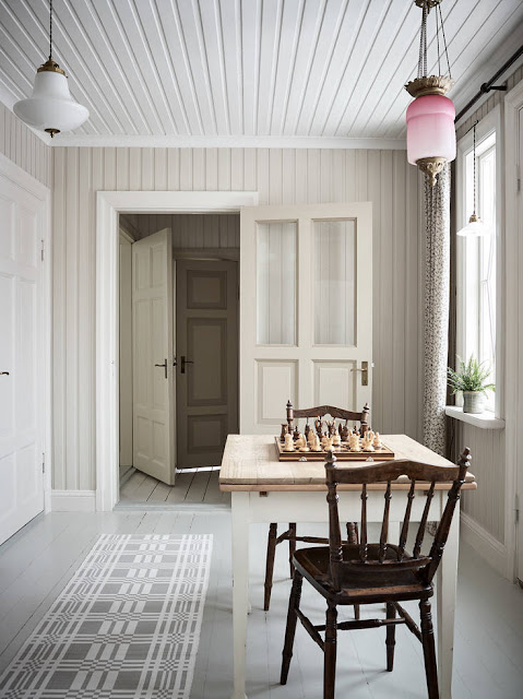 Дизайн-проекты. Очаровательный старинный дом в Швеции
