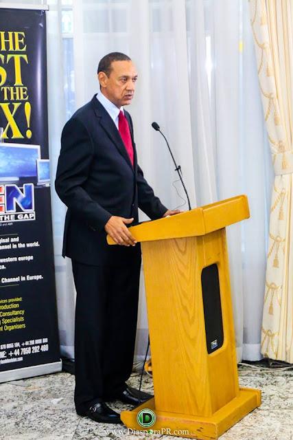 Senator Ben Bruce-Murryah speaks at No-nonsense Conference in London