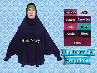 Jilbab Syar'i Model Tangan Mayada Harga Murmer
