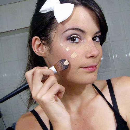 base de maquillaje para la noche monika sanchez