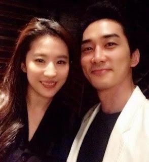 Song Seung Heon dan Liu Yifei Putus