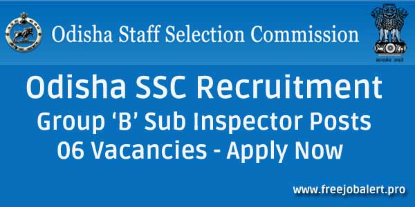 odisha ssc recruitment vacancies govt jobs sarkari naukari apply online