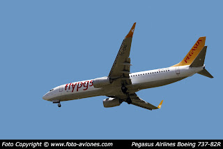 AVIÓN BOEING 737 NEXT GEN TC-CPA