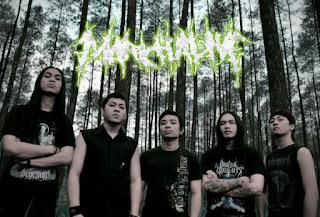 March Alive Death Metal Band Bandung Logo Foto Wallpaper