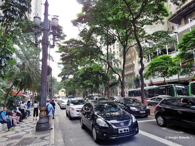 Vista da Avenida São Luis - Consolação - São Paulo