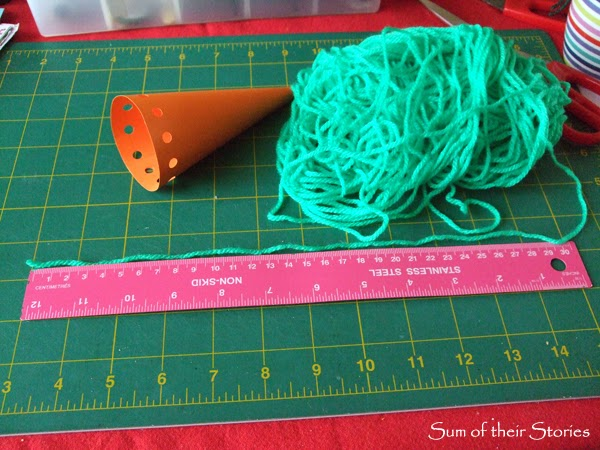 Carrot Treat box tutorial from Sum of their Stories