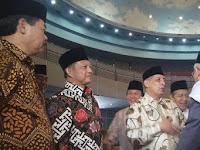 Halal bihalal dengan ormas Islam, Kapolri datang bareng ketua MUI