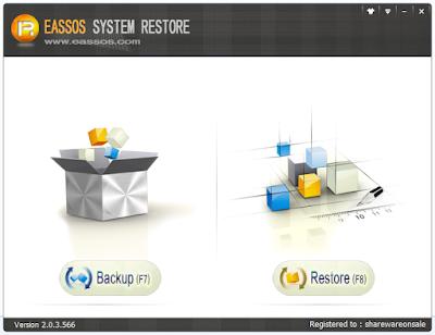 Screenshot Eassos System Restore 2.0.3.566 Full Version