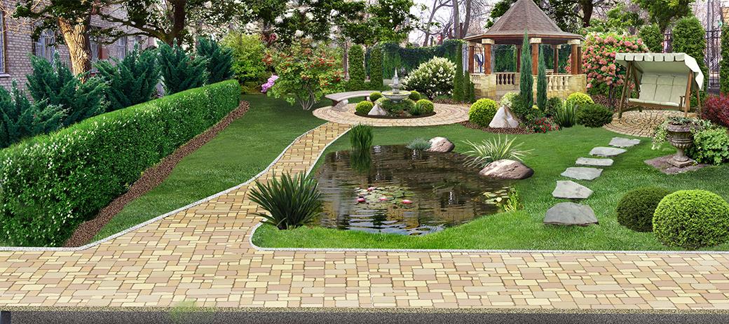 Amazing Backyard Landscaping Design