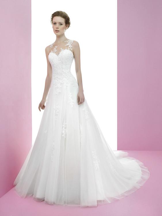 lindos vestidos de novias | colección miquel suay | somos novias