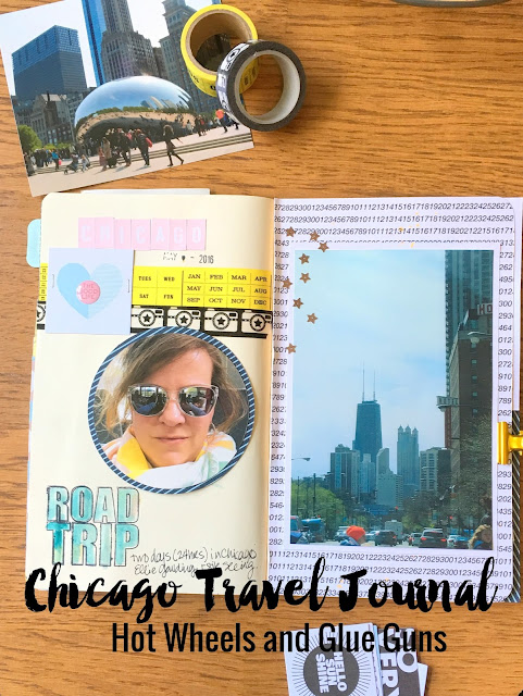 Chicago Travel Journal Hot Wheels and Glue Guns