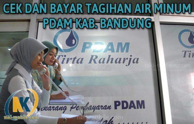 Niki Reload - Cara Cek dan Bayar Tagihan Air Minum PDAM Kabupaten Bandung Jawa Barat