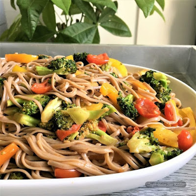 Garden Vegetable Soba Recipe
