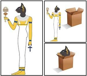 Bastet caja