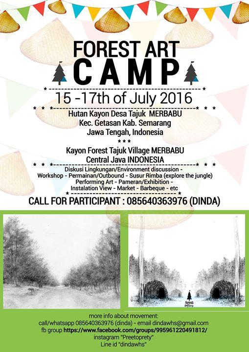 Forest Art Camp Hutan Kayon Merbabu
