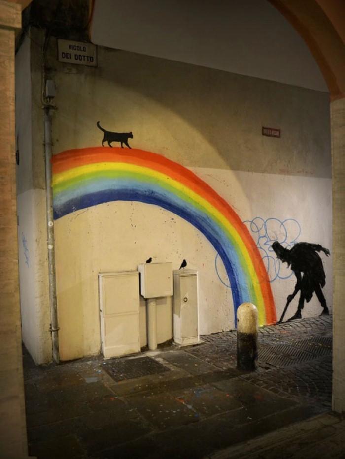 Kenny Random. Итальянский уличный художник 4