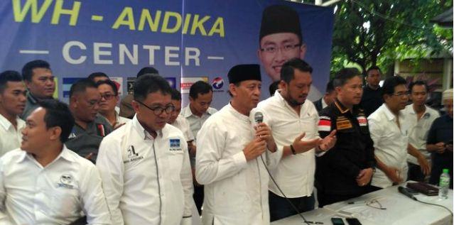 Ini Sentilan pedas Wahidin ke Rano Karno