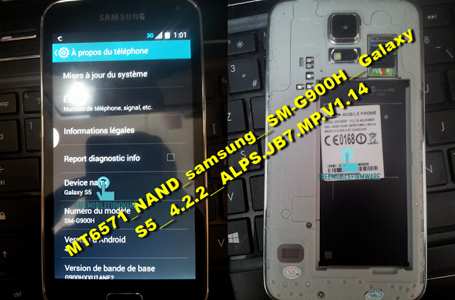 How To Flash Samsung Galaxy S5 Clone G900F Nand MT6571 Via Mtk SP Flashtool