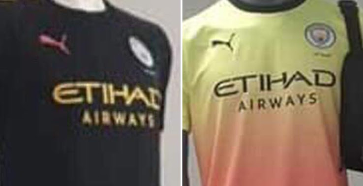 d3d6b361cbc ... Manchester City 19-20 away and third kits just got leaked, again via  @MCFCjustsayin. The pictures exactly match the colors, which we revealed  late last ...