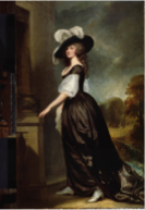 George Romney, Lady Milnes, 1789c, Frick Collection, USA