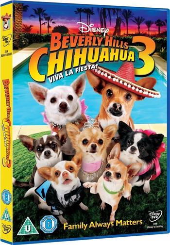 Beverly Hills Chihuahua 3 Viva La Fiesta DVDR NTSC Full Español Latino 2012