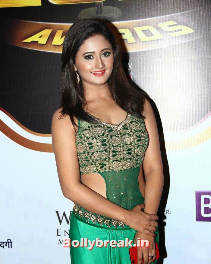 Rashmi Desai, Popular Tv Actresses on The Red Carpet of 7th Boroplus Gold Awards