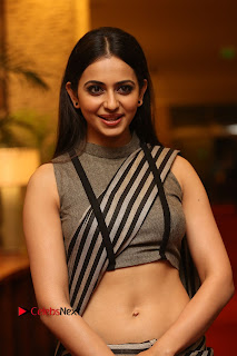 Actress Rakul Preet Singh Pictures at Abhinetri Audio Launch 0007