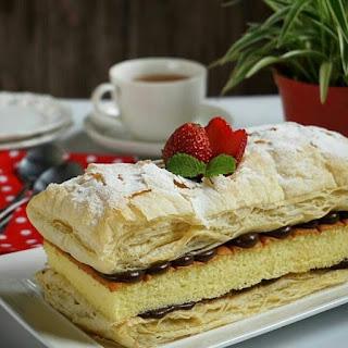 Ide Resep Snow Cake Nutella Ala Kue Artis
