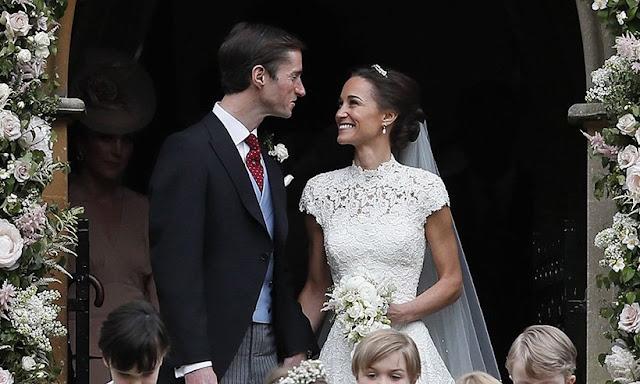 Lembra-se quando Pippa Middleton se envolveu terrivelmente com James Matthews, mas também toda a fofoca sobre como Pippa não queria um grande casamento?
