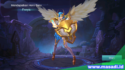 Cara dapat Hero Freya Mobile Legends