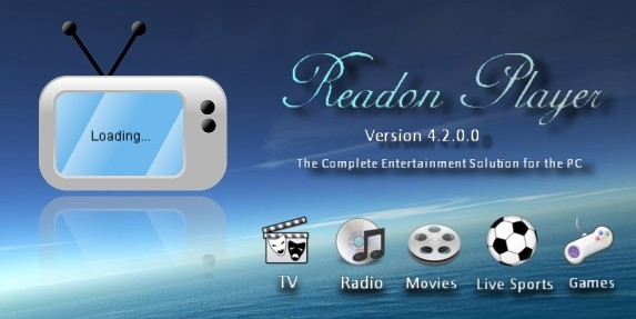 تحميل برنامج Readon TV  لتشغيل جميع قنوات التلفزيون على جهاز الكمبيوتر