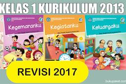 Download Buku K13 Revisi 2017 Kelas 1 SD/MI