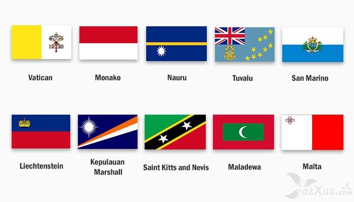 10 Negara Terkecil di Dunia, 1 Diataranya Negara Terkecil di Asia