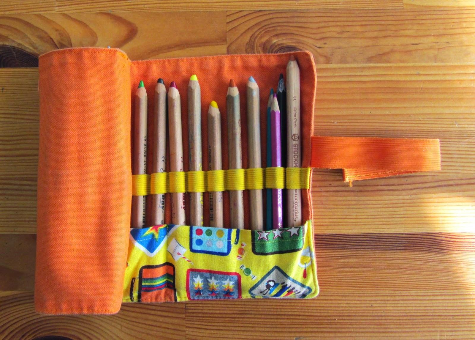 Top La sciarpa che canta: Come realizzare un astuccio porta matite  XV57