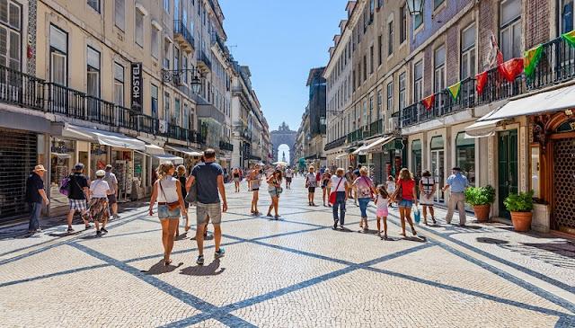 Compras em Portugal
