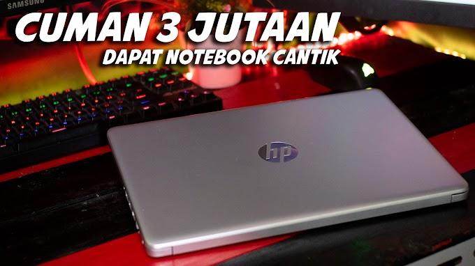 3 Jutaan dapat Notebook yang CANTIK, HP 14 Review