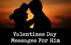 Valentines Day Messages For Boyfriend
