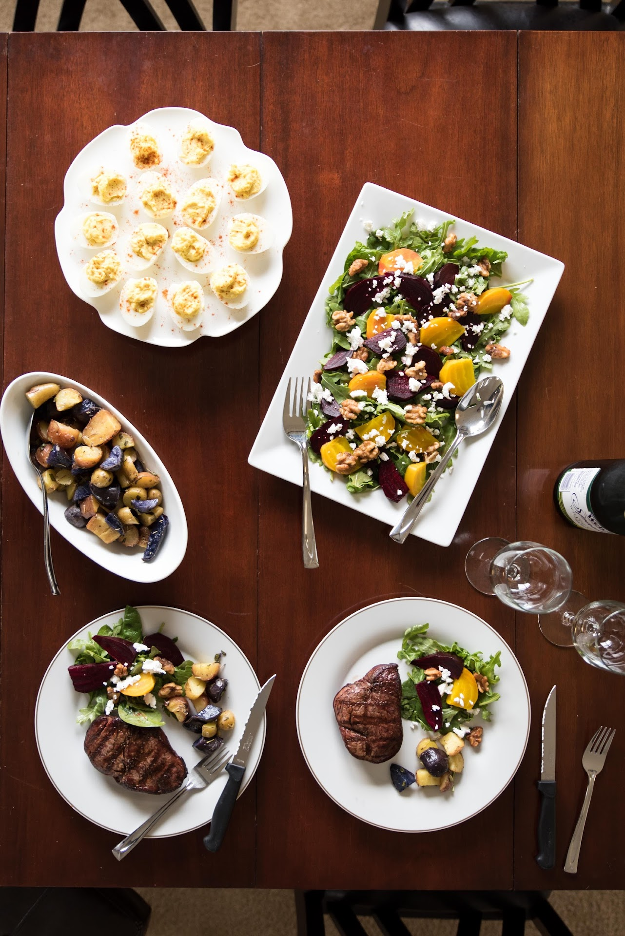 dinner party recipe ideas, beet salad recipe, beet recipe, dinner party recipe ideas, adult party food ideas, goat cheese, colorful salad, pretty salad, summer salad, spring salad, easter meal