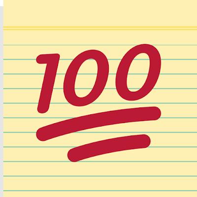 Het honderdste blogartikel op Hendrie Schrijft is een feit!