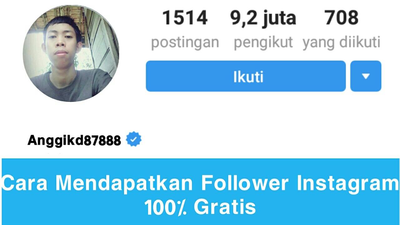 Tutorial Mendapatkan Follower di Instagram 100% Gratis 5