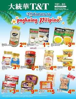 T&T Supermarket Flyer Weekly Specials valid July 21 - 27, 2017