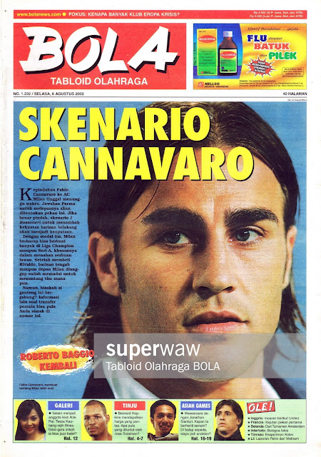 TABLOID BOLA: SKENARIO CANNAVARO