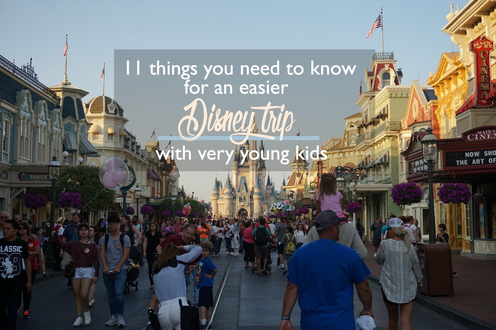 11 Things You Need to Know for an Easier Disney Trip with Very Young Kids
