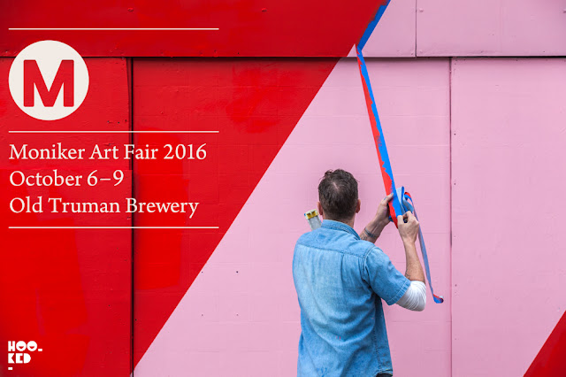 Moniker Art Fair 2016 at the iconic Old Truman Brewery