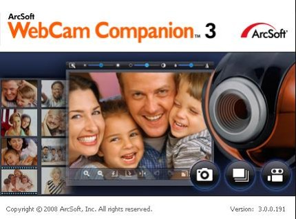 Arcsoft webcam companion 3 0 for free