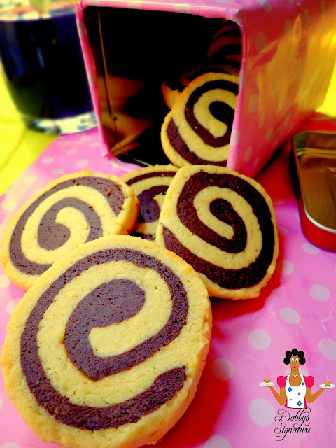 chocolate pinwheel cookies - photo #16