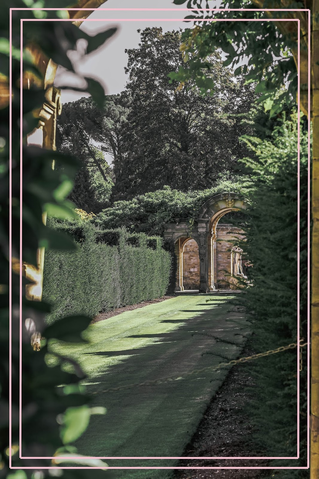 Never Castle Italianate Garden Travel Blog