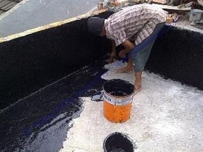 waterproofing pu coating atau polyurethane coating pada kolam ikan
