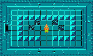 Link consiguiendo uno de los fragmentos del artefacto