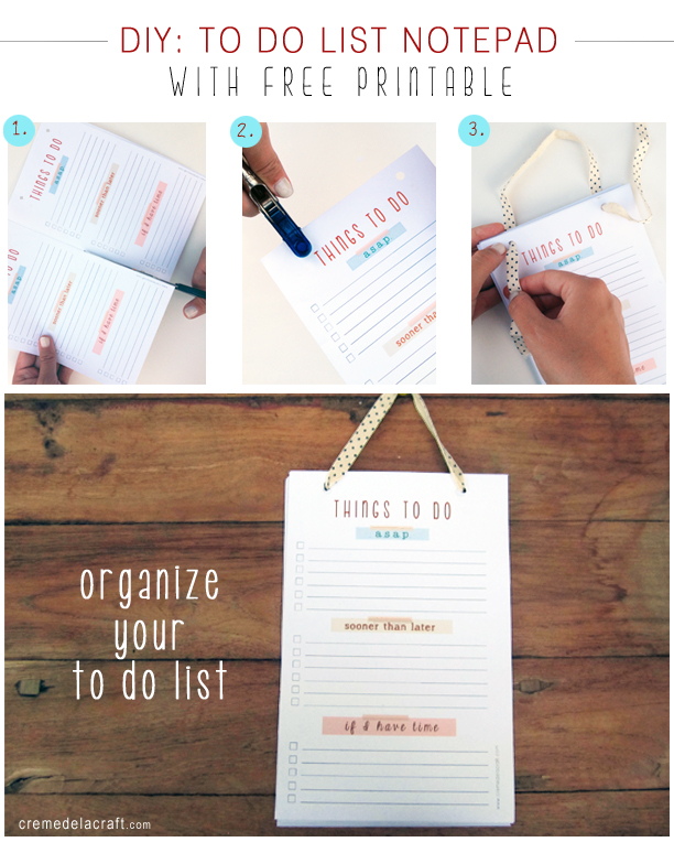 diy to do list template - to do list diy task list templates
